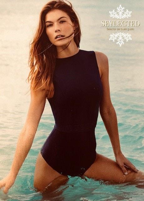Eres buena nadadora ó al menos quieres aparentar serlo.? Este es tu bañador para este verano.