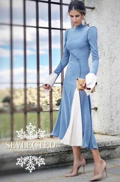 Uno de los mejores diseños o dejémoslo en uno de los vestidos más bonitos que he visto en los últimos años. Que van a comentar, van a comentar. Preparada.?