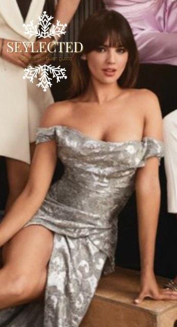 """Muy Marilyn, pero si quieres llamar la atención masculina, sabes que es """"El Vestido""""."""