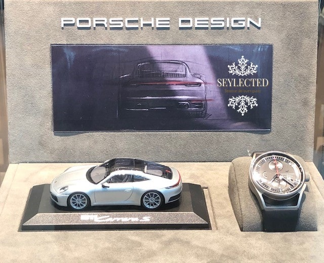 Cómo no, esta gran marca exhibiendo un reloj cuyo diseño ha logrado estar a la altura.