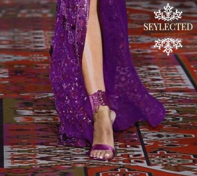 El vestido era fantástico pero cuando descubrí estas sandalias, lo demás me sobró
