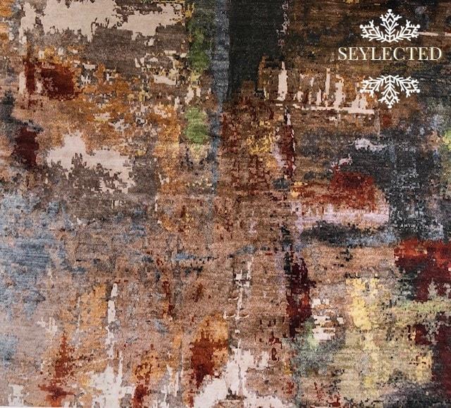 Tremenda duda que tuve con esta imagen: debería considerarla arte.? Pero es una alfombra. Ok, por esta vez la dejaremos en Seything.